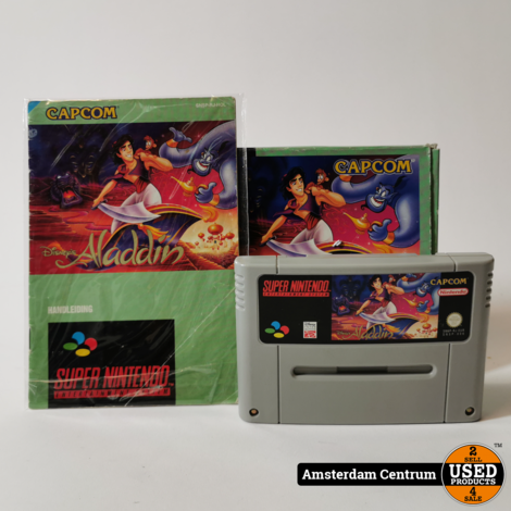 Nintendo Super Nintendo (SNES) Game: Aladdin