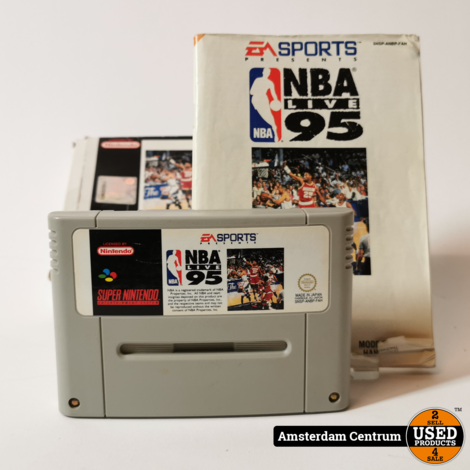 Nintendo Super Nintendo (SNES) Game: NBA Live 95