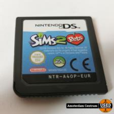 Nintendo Nintendo DS Game: Sims 2 Pets | Losse Casette
