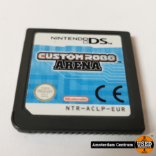 Nintendo DS Game: Custom Robo Arena   Losse Casette
