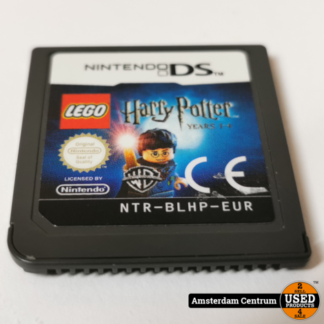 Nintendo DS Game: Harry Potter Years 1-4 | Losse Casette