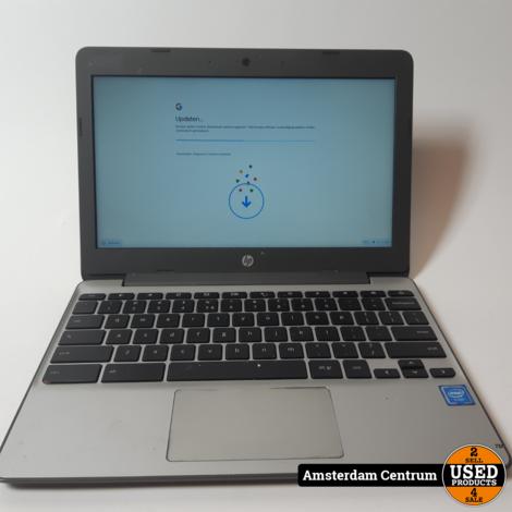 HP Chromebook 11-v001nd | 16GB HDD 4GB RAM | Incl. garantie