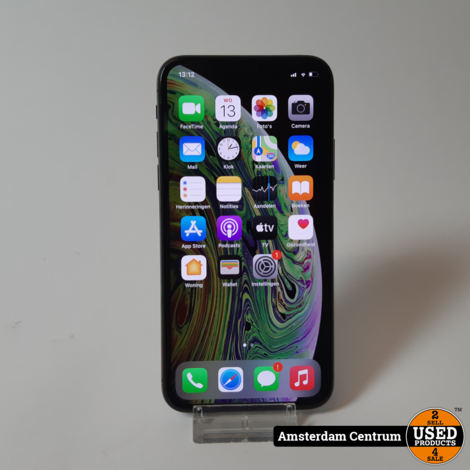 iPhone XS 64GB Space Gray | LEES BESCHRIJVING