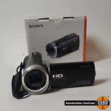 Sony HDR-CX450 Videocamera | Nette staat in doos