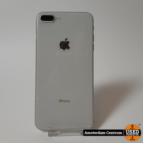 DAGDEAL! iPhone 8 Plus 64GB Zilver/Silver | Incl. garantie