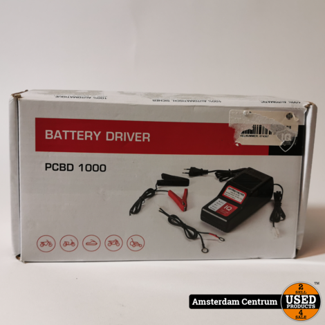 Battery Driver PCBD 1000 12V 1A LEAD-ADIC Charger | ZGAN
