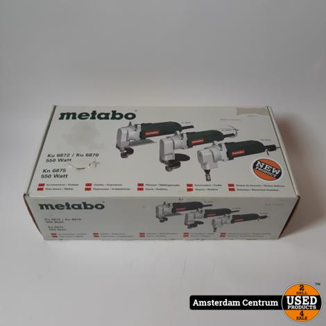 Metabo KU 6870 Plaatschaar 550W | Nieuw
