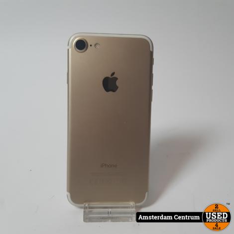 iPhone 7 32GB Goud/Gold   Incl. garantie