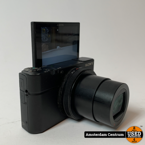 Sony RX100 III Zwart Compact Camera | | Incl. garantie
