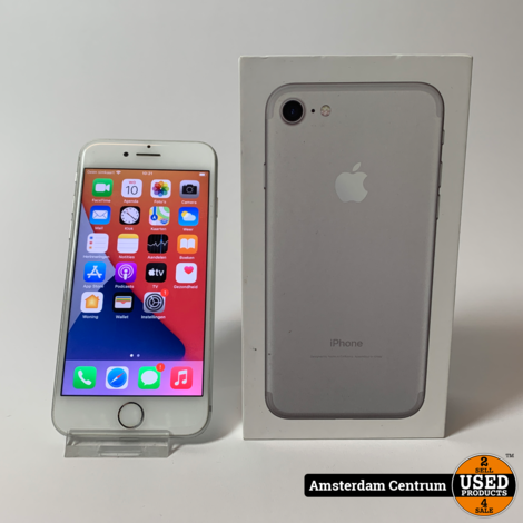 iPhone 7 32GB Zilver/Silver | In nette staat