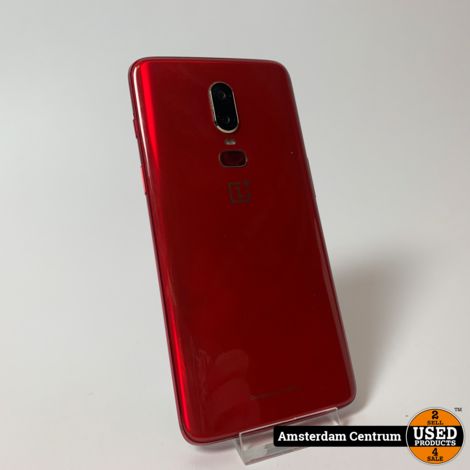 OnePlus 6 128GB/8GB Rood/Red | In doos