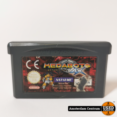 Gameboy Advance Game: Megabots Metabee AX | Losse Cassette