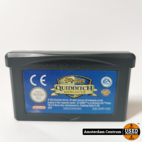 Gameboy Advance Game: Harry Potter Quidditch World Cup | Losse Cassette