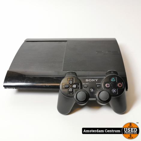 PlayStation 3 Slim 500GB Zwart/Black   Incl. controller