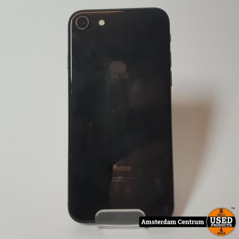 iPhone 8 64GB Zwart/Black   Incl. garantie