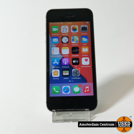 iPhone SE 32GB Space Gray #3 | Incl. garantie