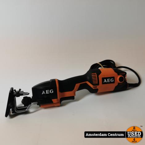 Aeg 400 XE Reciprozaag | Excl. zaagblad