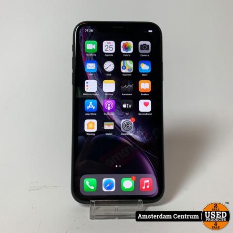 DAGDEAL! iPhone XR 64GB Zwart/Black   Incl. garantie