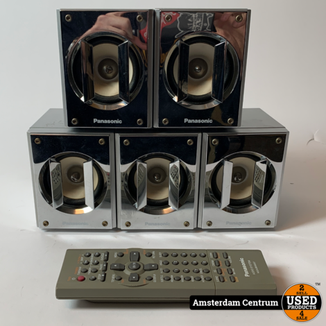 Panasonic SC-DM3 DVD Home Cinema System   Incl. garantie