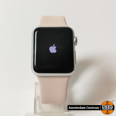 Apple Watch Series 1 38mm Zilver | Incl. garantie