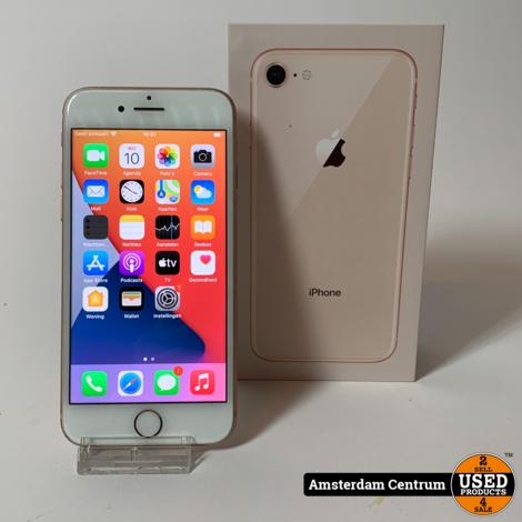 DAGDEAL! iPhone 8 64GB Goud/Gold | Nette Staat in Doos