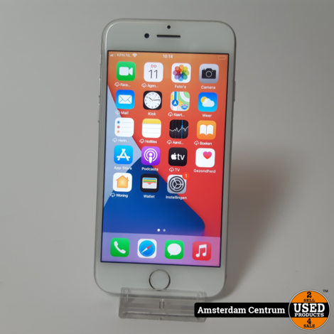 iPhone 7 32GB Silver   In nette staat