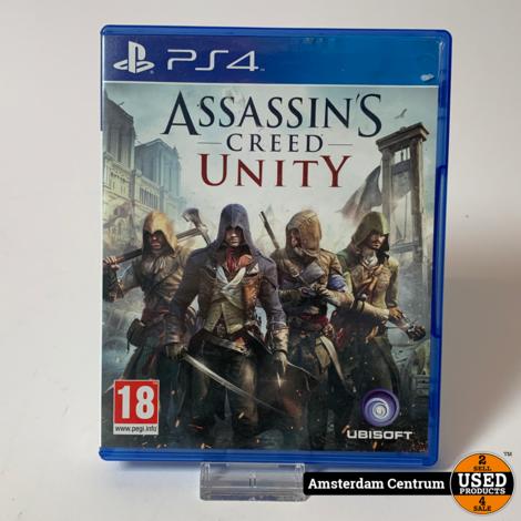 Playstation 4 Game: Assassins Creed Uniy