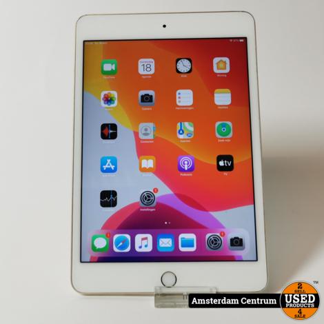 iPad Mini 4 32GB WiFi Goud/Gold | Incl. garantie