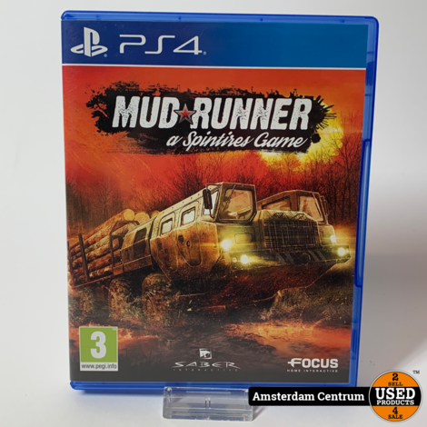 Playstation 4 Game: Mud Runner a Spintires Game