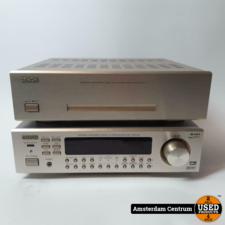 Denon Denon AVR-F100, POA-F100 compacte receiver en versterker   Nette Staat