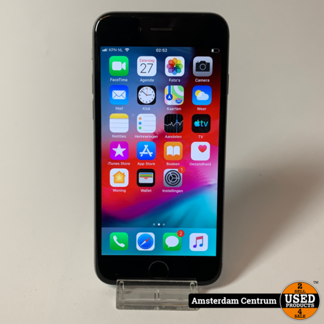 iPhone 6 64GB Space Gray   Incl. garantie