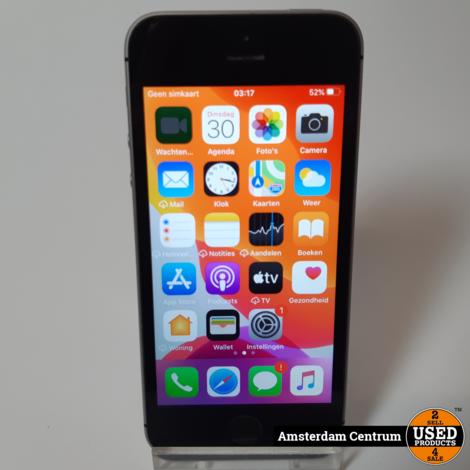 iPhone SE 32GB Space Gray   Incl. garantie
