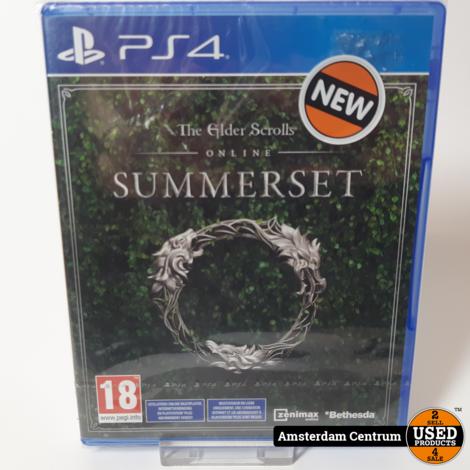 Playstation 4 Game: The Elder Scrols Summerset | Nieuw in seal