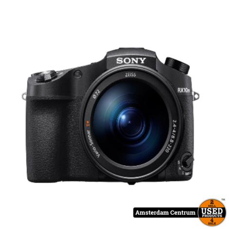 Sony Cybershot DSC-RX10 IV Zwart/Black | Nieuw in doos