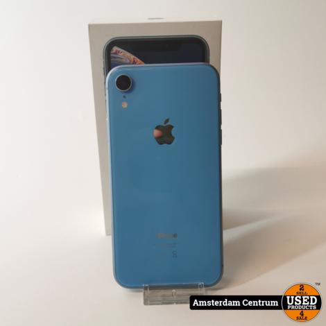 iPhone Xr 256GB Coral Blue | Incl. garantie