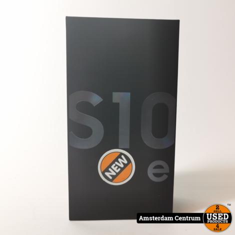 Samsung Galaxy S10e Enterprise Edition 128GB Prism Black | Nieuw in doos