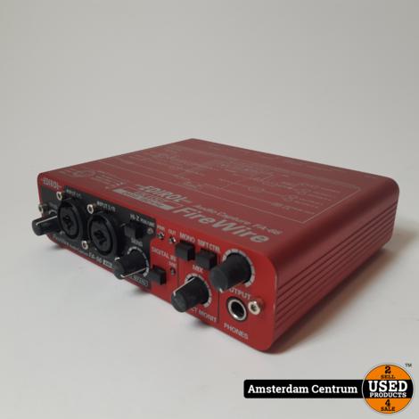 Roland Edirol FA-66 FireWire Audio Interface | Incl. garantie