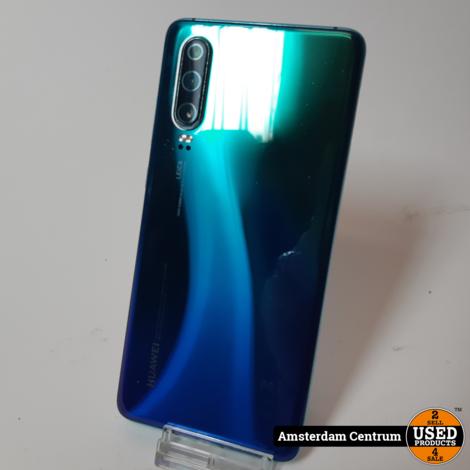 Huawei P30 128GB Blauw/Blue | Incl. lader en garantie