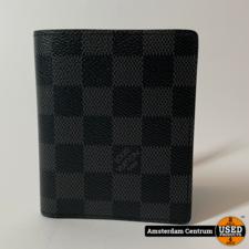Louis Vuitton N60362 Damier Graphite Multiple Wallet | Incl. factuur