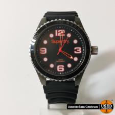 Superdry Superdry SYG165BA Herenhorloge Zwart/Black | incl. garantie
