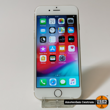 iPhone 6 16GB Goud/Gold | Incl. lader en garantie