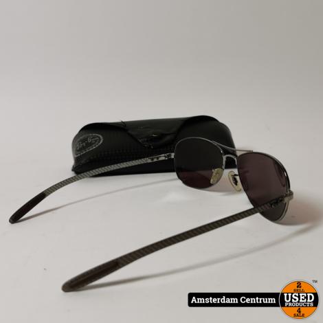 Ray-Ban RB8301 Carbon Fibre Zonnebril | Incl. koker