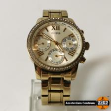 Guess Guess W0623L3 Sunrise Horloge Goud | Incl. garantie
