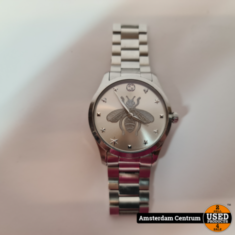 Gucci G-Timeless Iconic horloge YA1264126   In nette staat