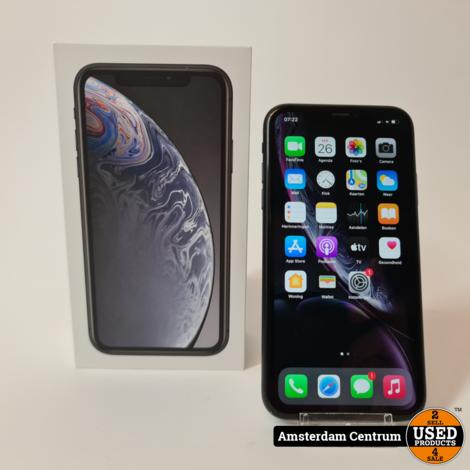 iPhone Xr 64GB Zwart/Black | Incl. garantie