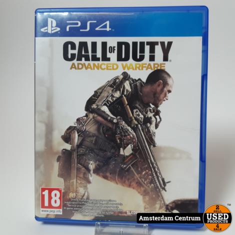 Playstation 4 Game : COD Advanced Warfare