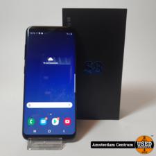 Samsung Galaxy S8 64GB Black   ZGAN in doos