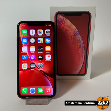 iPhone Xr 128GB Rood | Nette staat