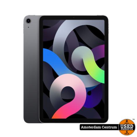 iPad Air 2020 (4e generatie) 64GB WiFi 4G (SIM) Space Gray | Nieuw + Bon