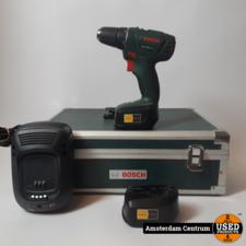 Bosch PSR 1800 LI-2 Boormachine 18V (2 Accu's)   Incl. lader en garantie
